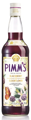 Pimm's Blackberry and Elderflower