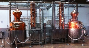 De Kuyper pot stills